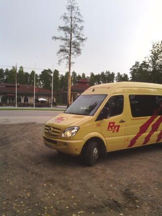 Rautalammin Auto Oy 24-paikkainen bussi