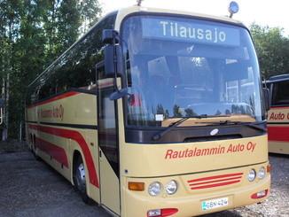 Rautalammin Auto Oy 64-paikkainen bussi
