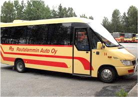 Rautalammin Auto Oy bussi3